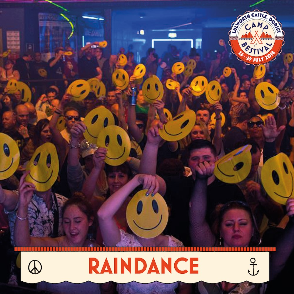Raindance at Camp Bestival 2018